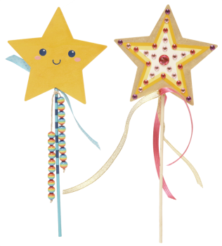 "DIY Fairy Wand ""Stars"", 1pc."
